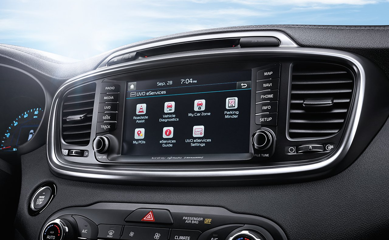 Stay Connected in the 2017 Sorento!