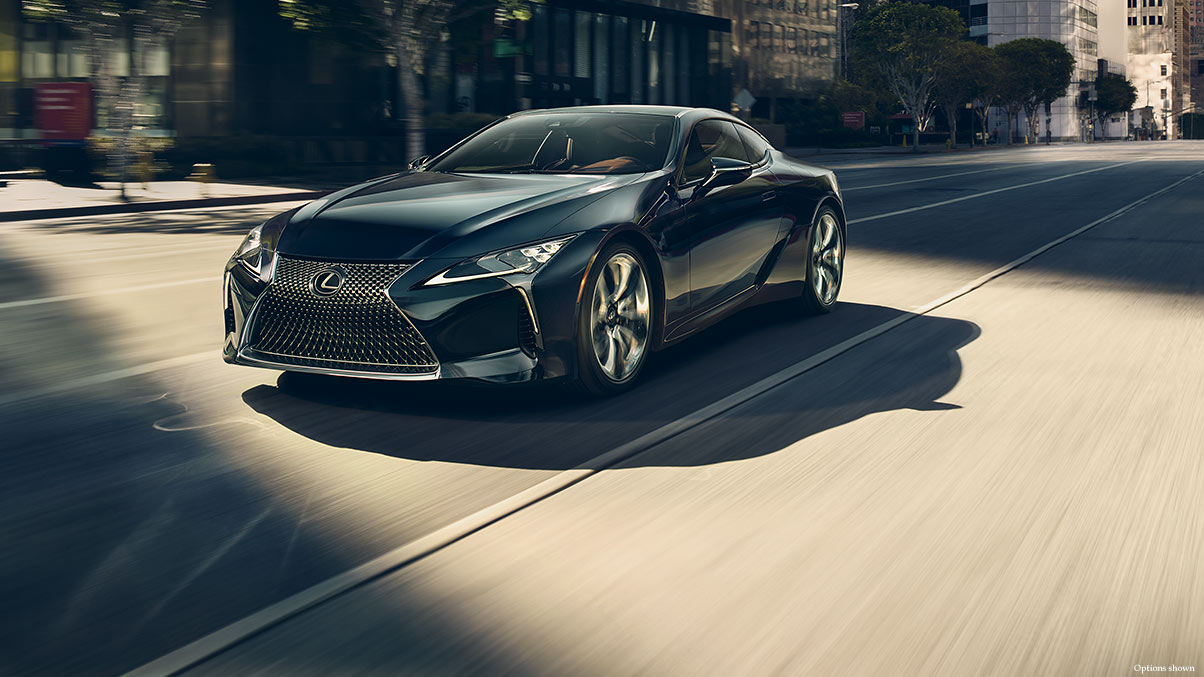 2018 Lexus LC 500 Technology Features in Chantilly, VA