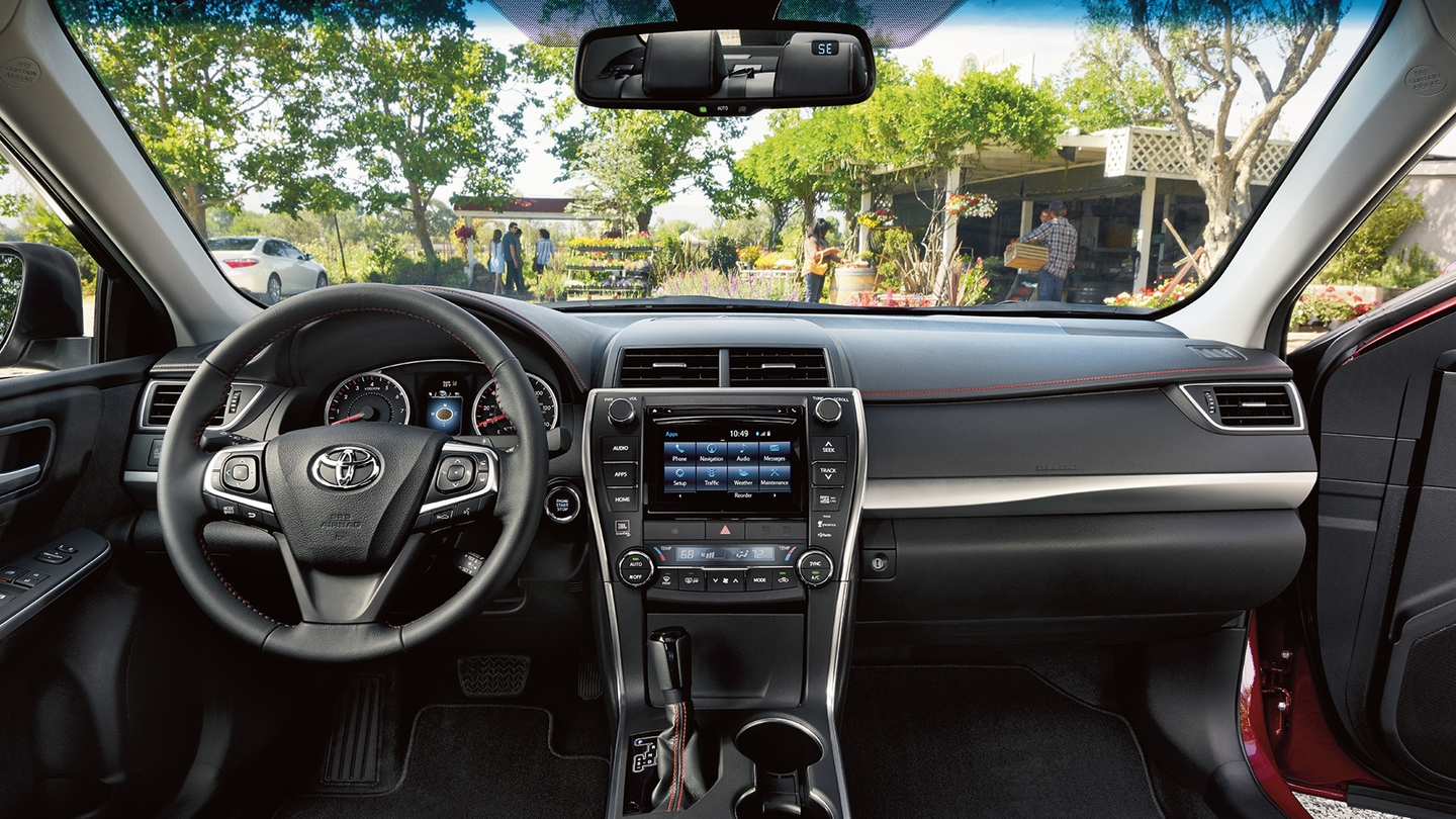 Finely-Furnished Interior of the 2017 Camry