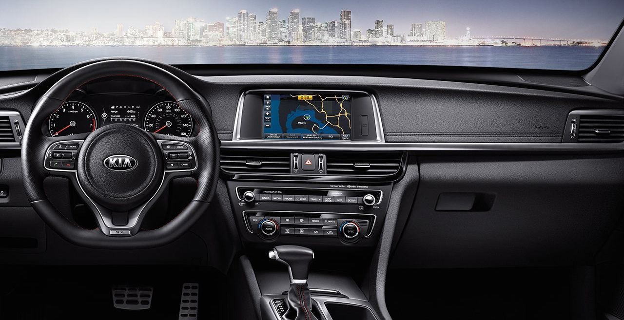 Find Excitement Behind the Wheel of the Optima