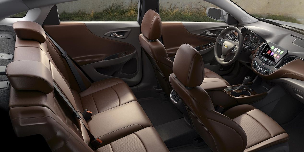 Available Interior of the 2017 Malibu