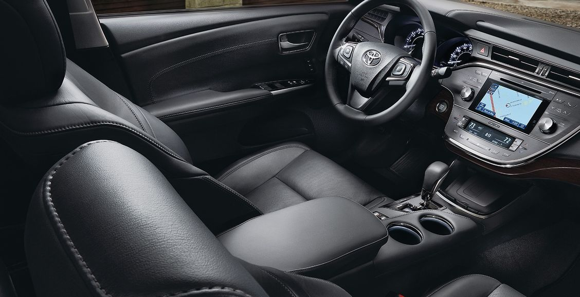 Leather-Appointed Seating in the Toyota C-HR