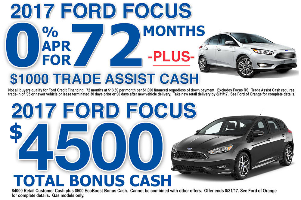 2017 Ford Focus Orange County Ford of Orange
