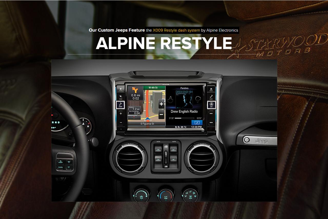 Alpine project jeep