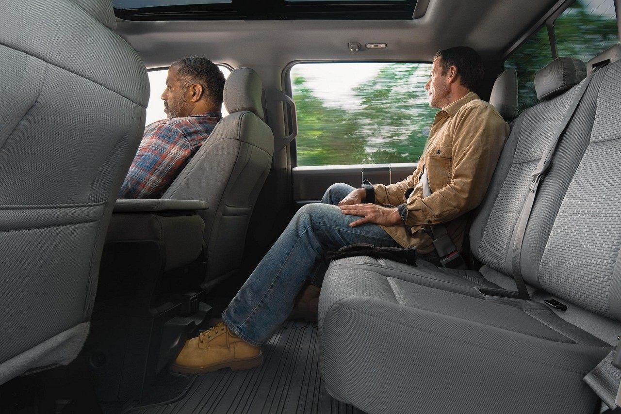 Spacious Interior of the Ford F-150