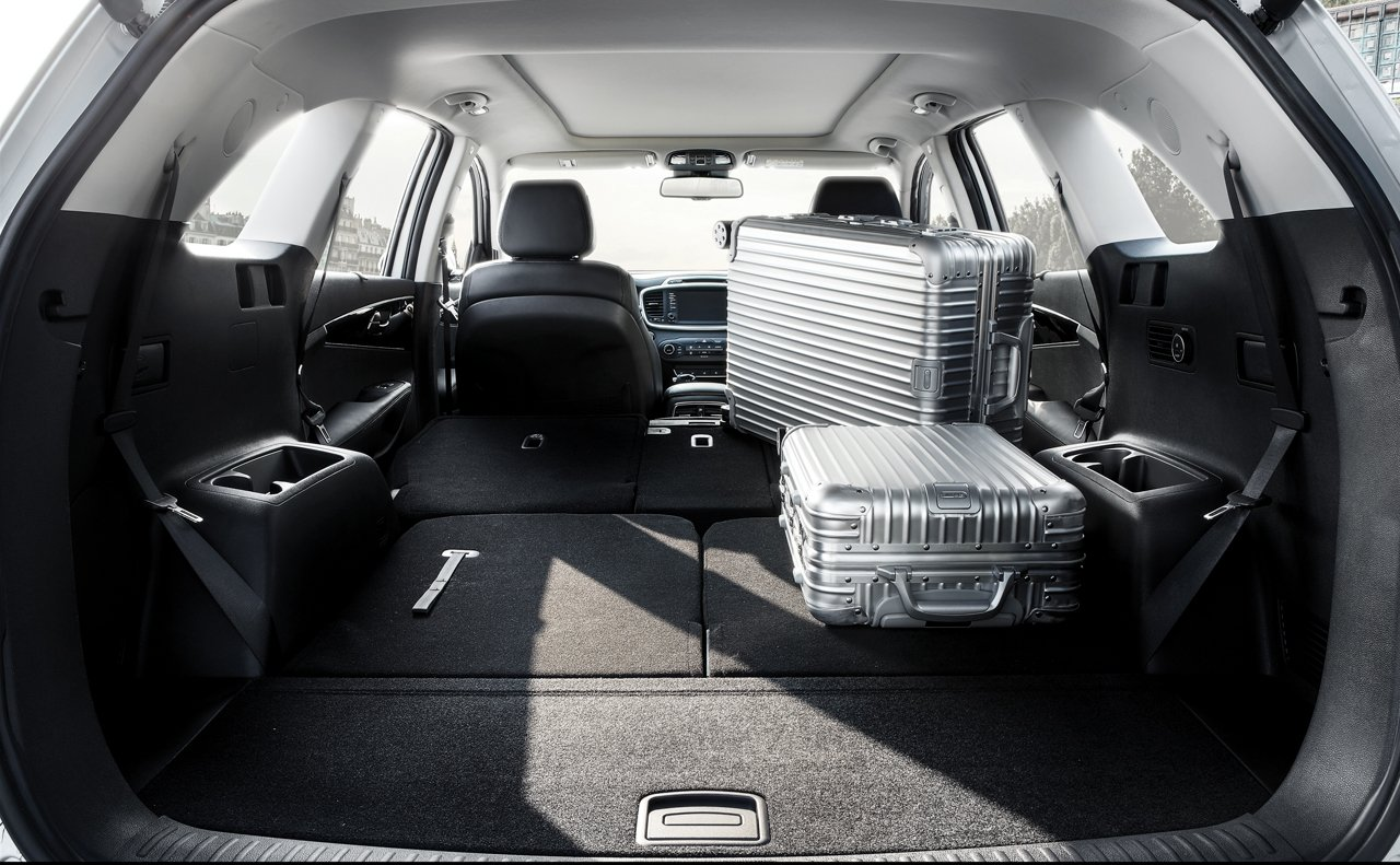 Flexible Cargo Area of the 2018 Sorento