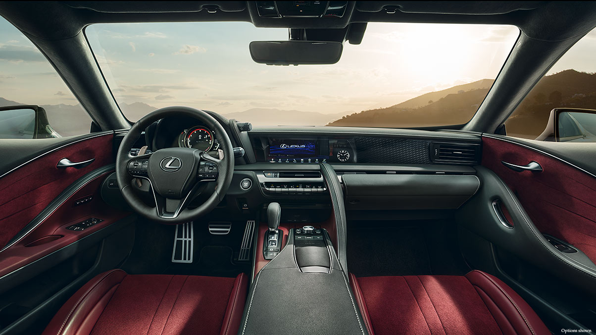 The Interior of the LC 500