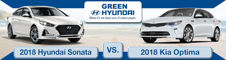 2018 Hyundai Sonata vs. 2018 Kia Optima Comparison ...