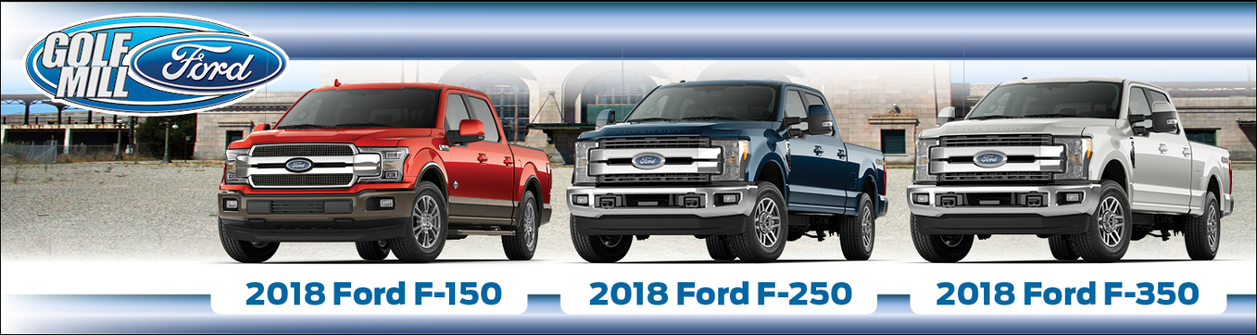 מעולה 2018 Ford F-150 vs. F-250 vs. F-350: Differences & Similarities VK-92