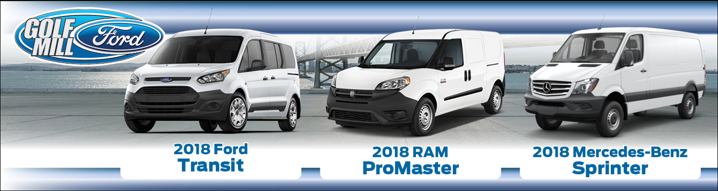 Ford Transit Ram Promaster And Mercedes Benz Sprinter Side By Side Images