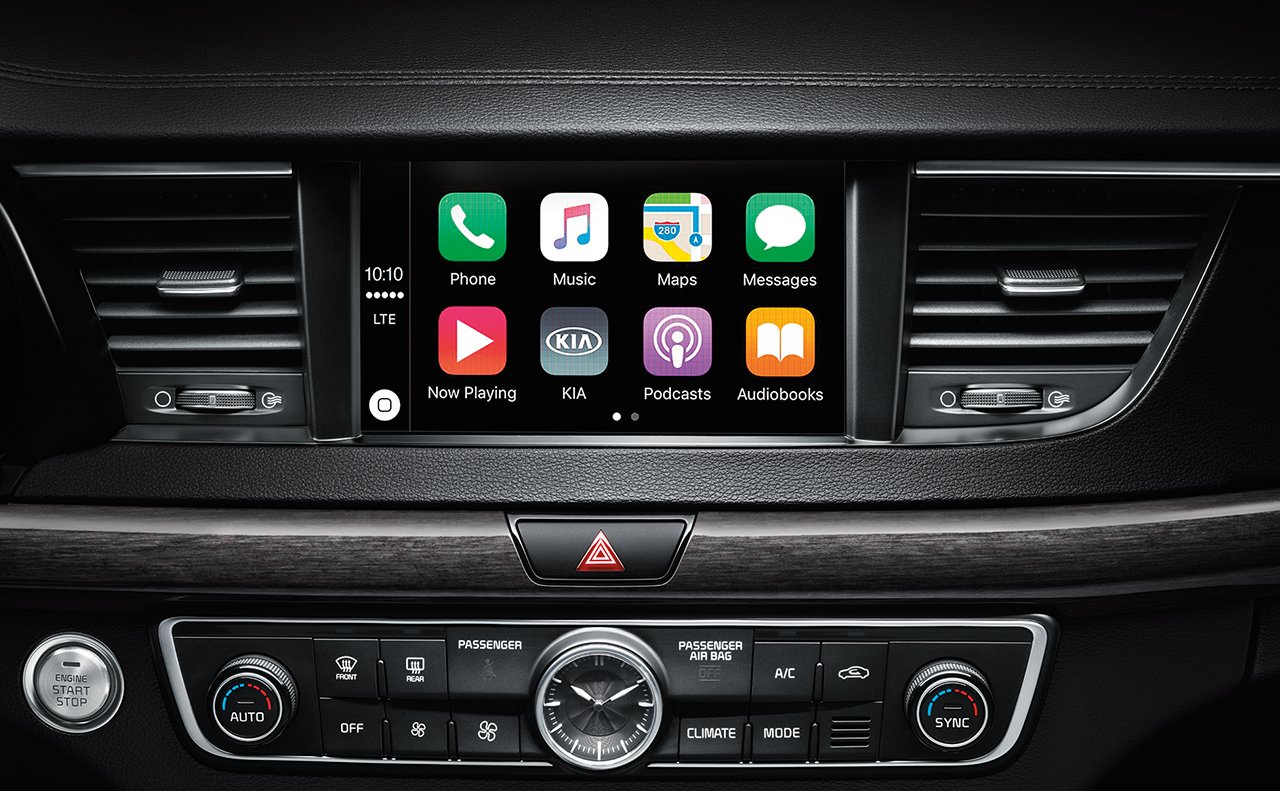 2017 Cadenza with Apple CarPlay™