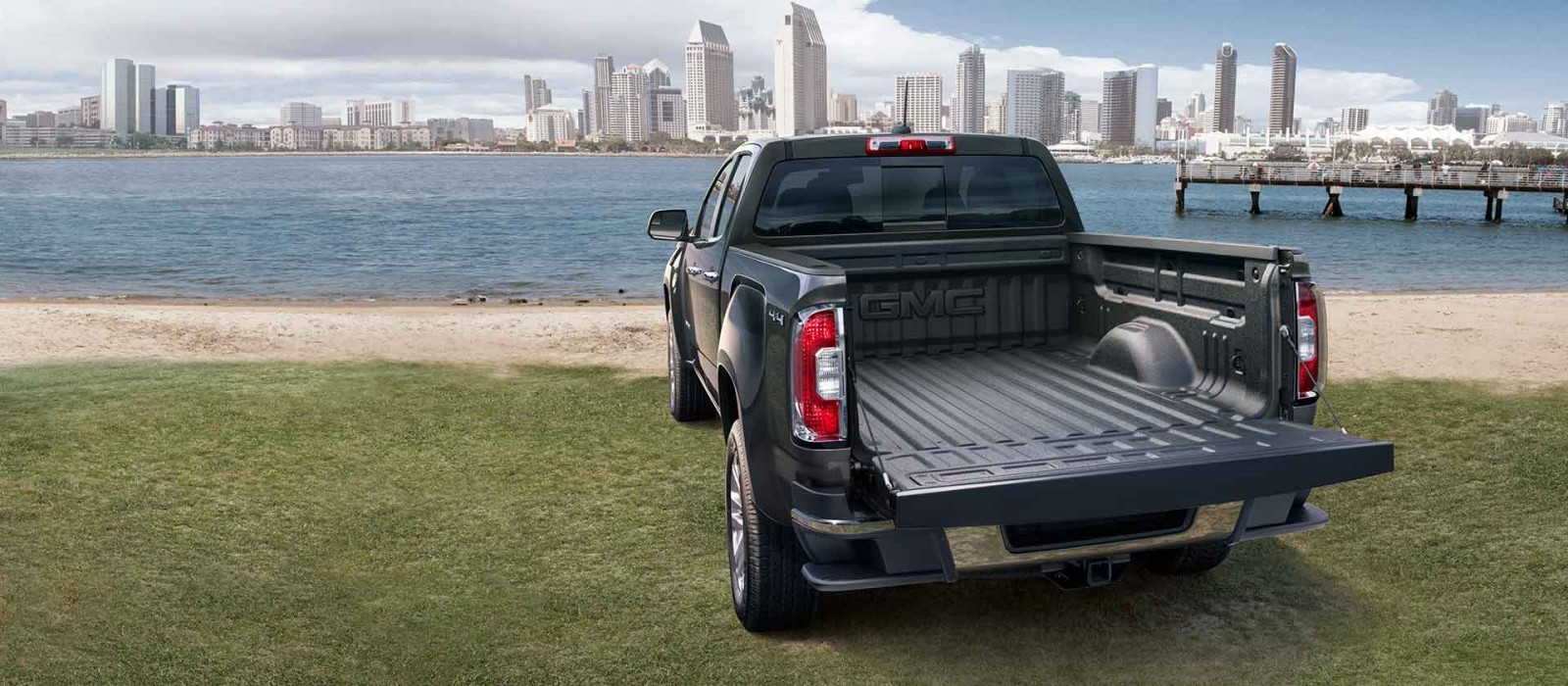 Cargo Bed of the GMC Canyon