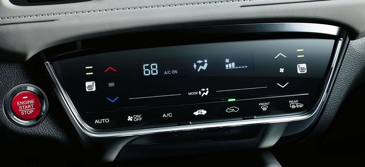 Automatic Climate Control System in the Honda HR-V
