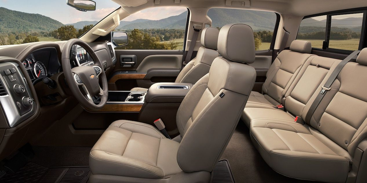 Interior of the Silverado 1500