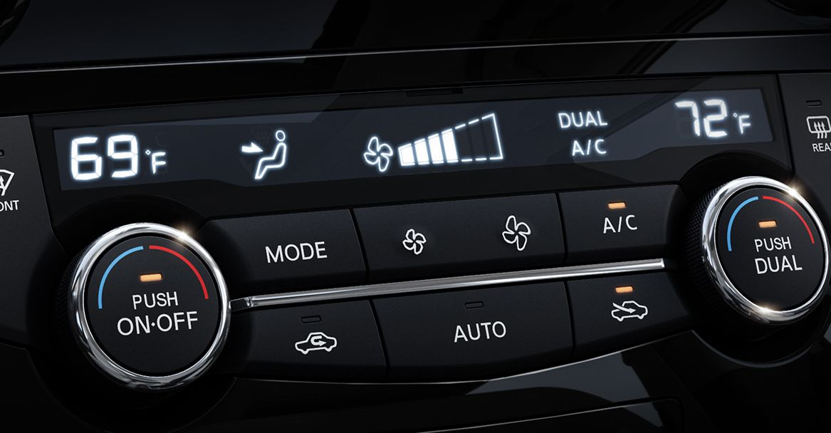 Dual Zone Automatic Control System in the Nissan Rogue Sport
