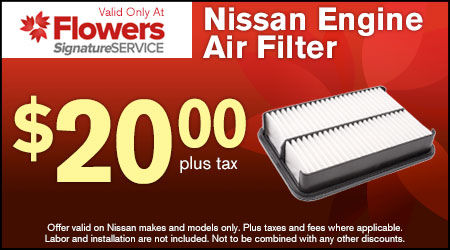 Flowers Nissan Thomasville Ga >> Nissan Parts Accessory Coupons Deals Flowers Nissan