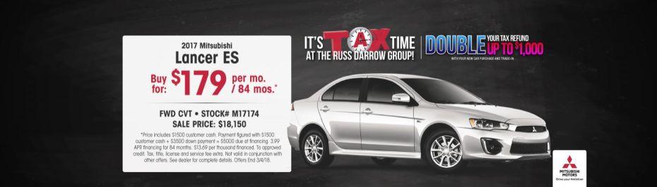 Mitsubishi Car Deals Auto Service Specials Russ Darrow WI - Mitsubishi auto service
