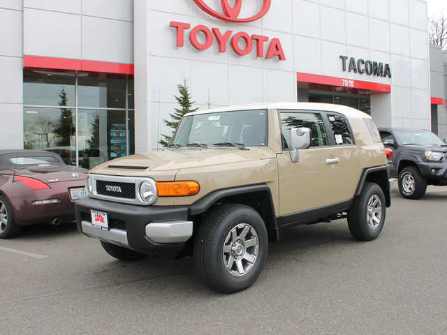 What are the Trims of the 2014 Toyota FJ Cruiser  Toyota of Tacoma