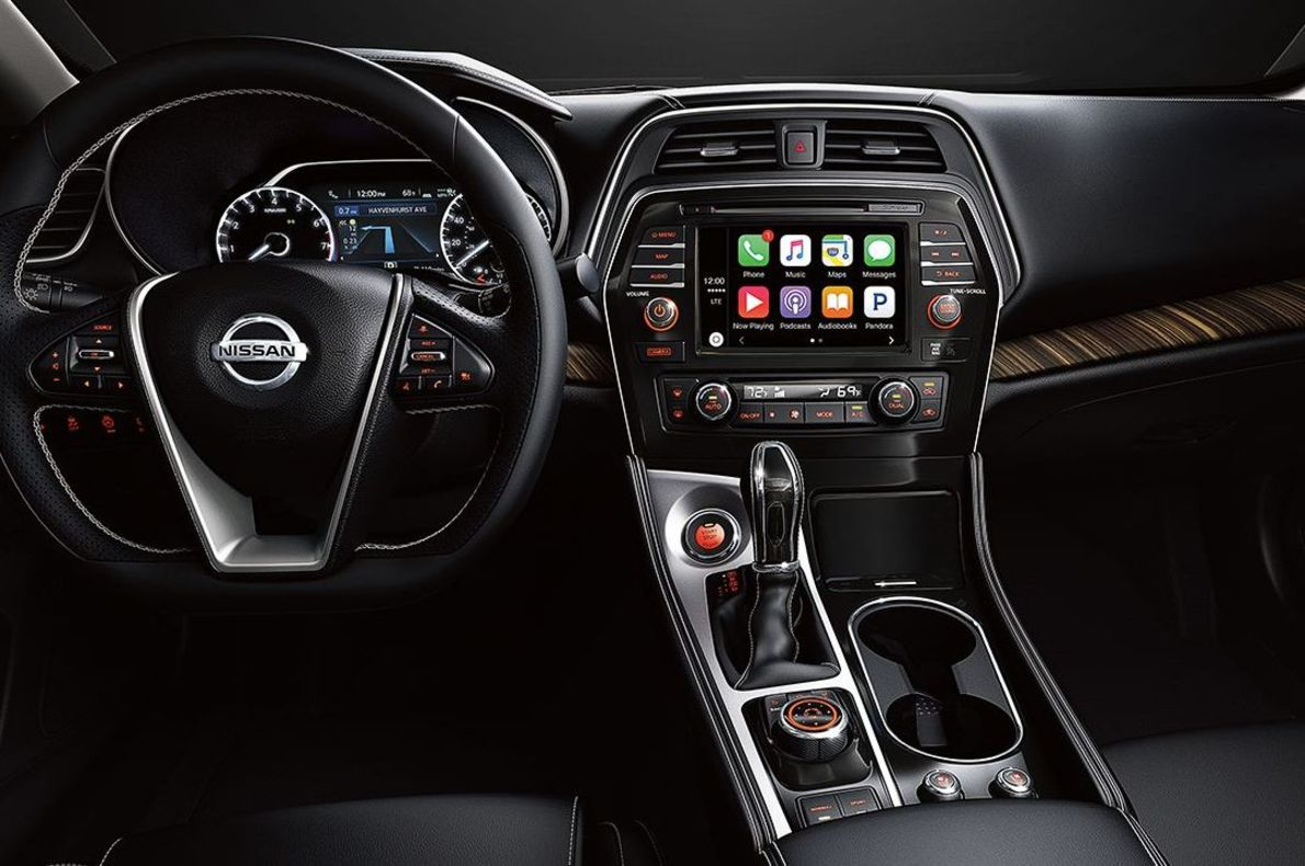 The Interior of the 2017 Maxima