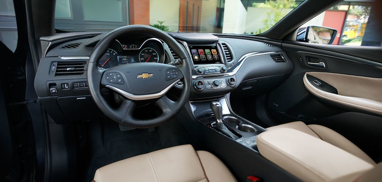 Interior of the Impala