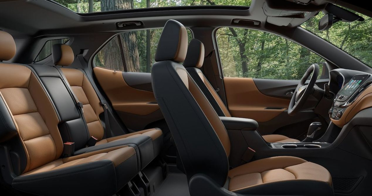 5-Passenger Seating in the Equinox