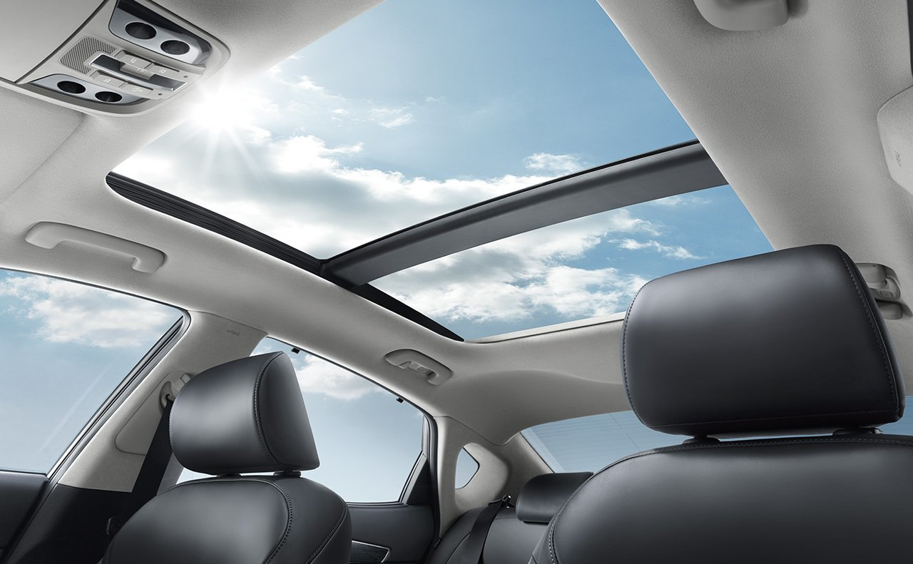 Panoramic Sunroof within the Kia Cadenza