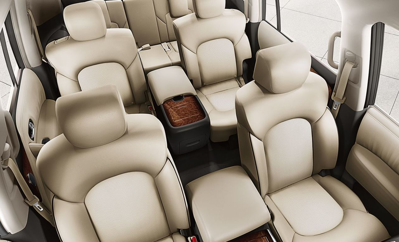 Nissan Armada with 7-Passenger Seating