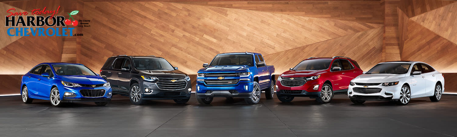 Chevy Lease Specials - Harbor Chevrolet