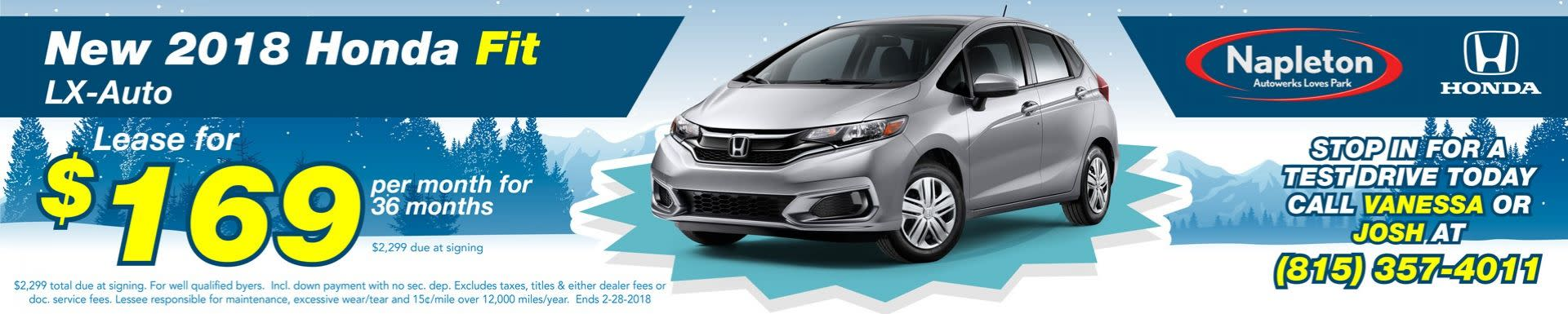 Monthly Specials - Napleton's Honda