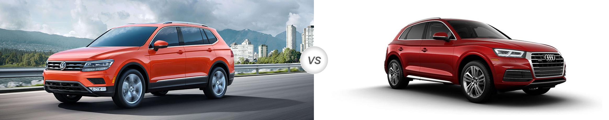 2018 Volkswagen Tiguan vs 2018 Audi Q5 | Which is Better ...