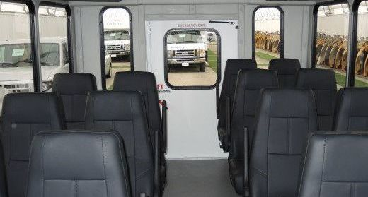 Comfortable Interior of One of Our Buses!