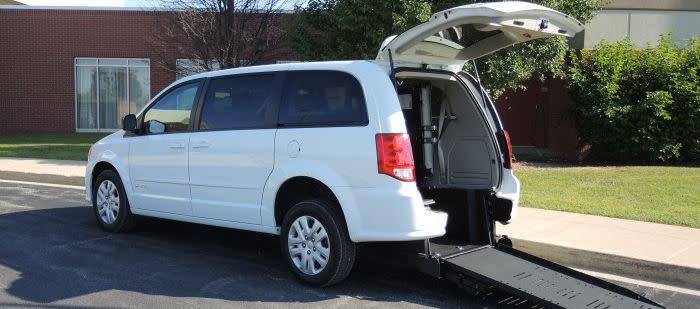 Nice New 2018 Dodge Caravan Wheelchair Van For Sale In Illinois