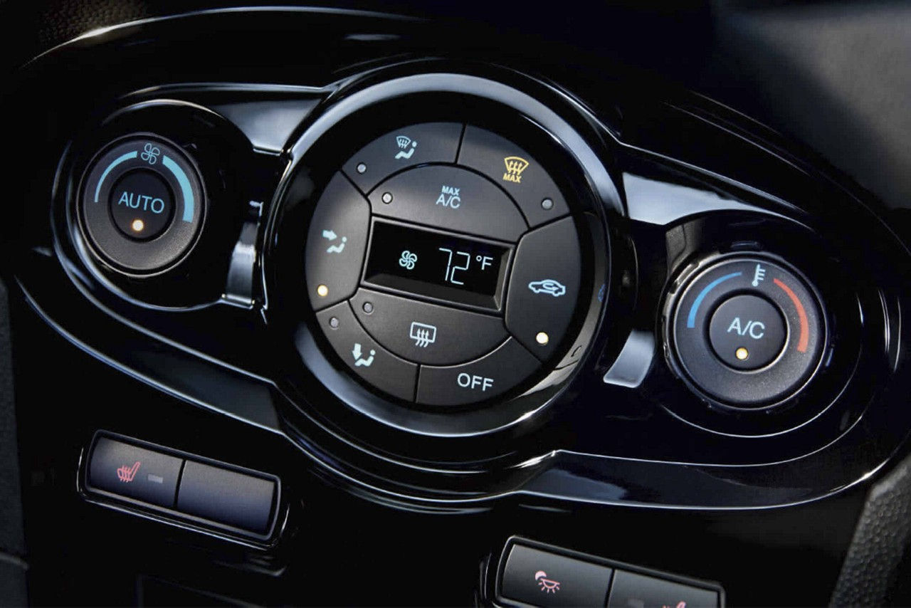 2017 Ford Fiesta Automatic Temperature Control