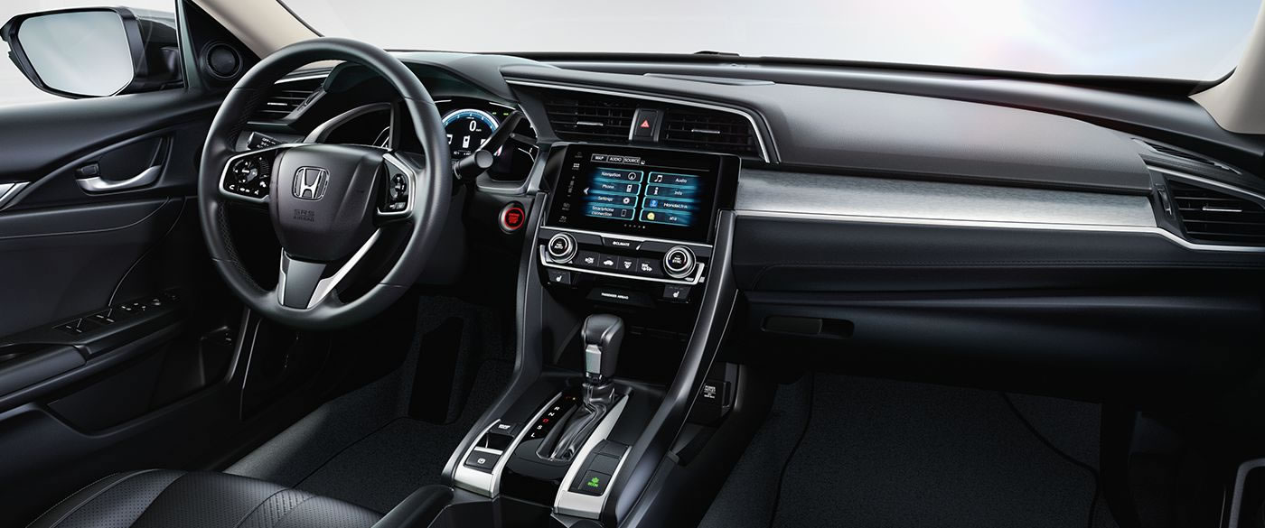 Upscale Interior of the 2017 Civic