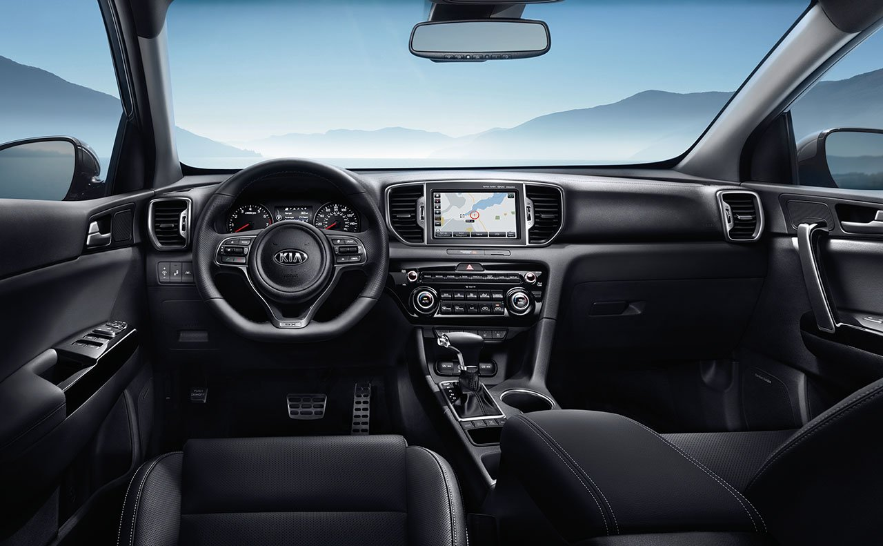 The Sumptuous Cabin of the 2017 Sportage