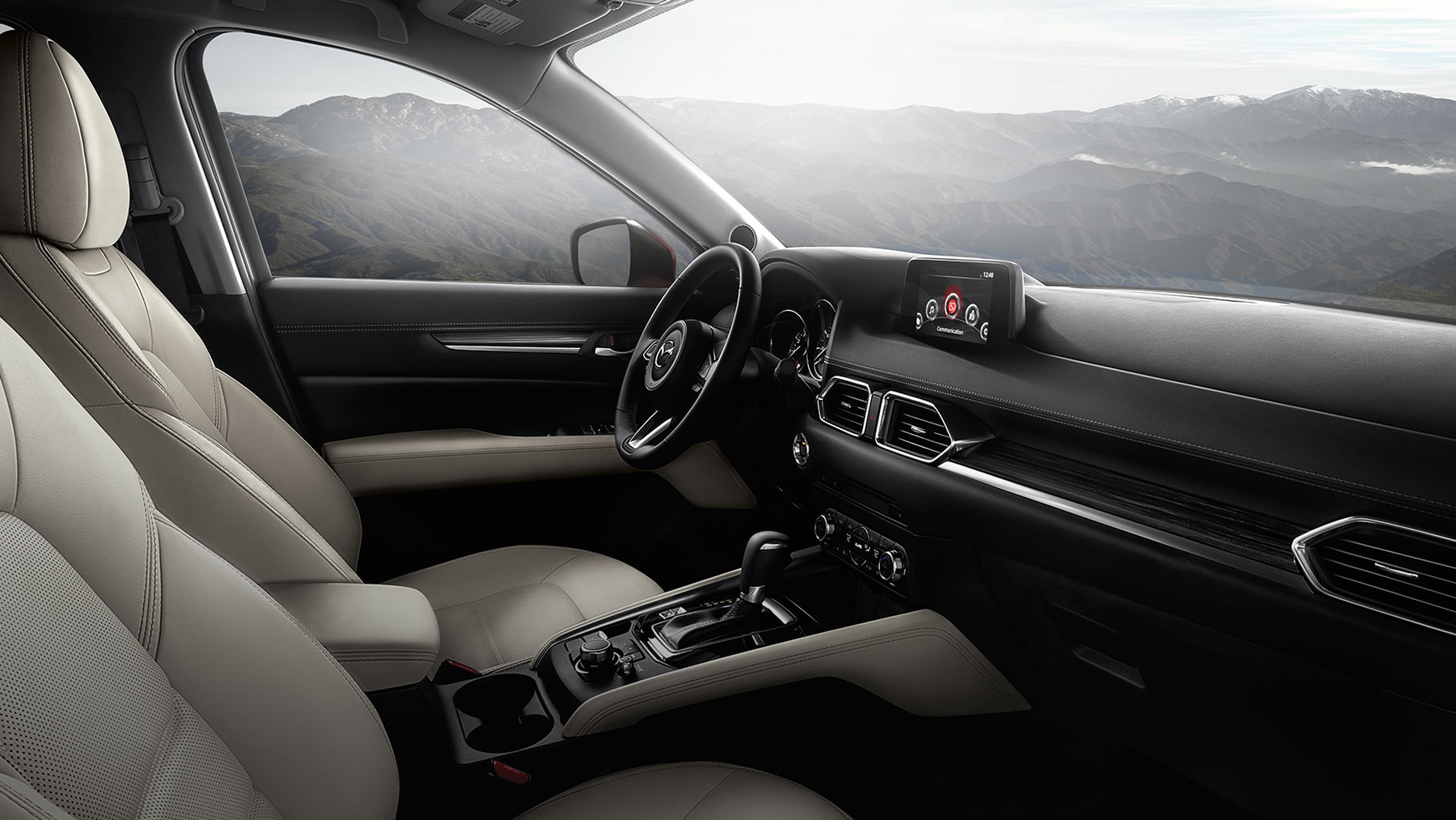 Relax in the Sumptuous Interior of the Mazda CX-5