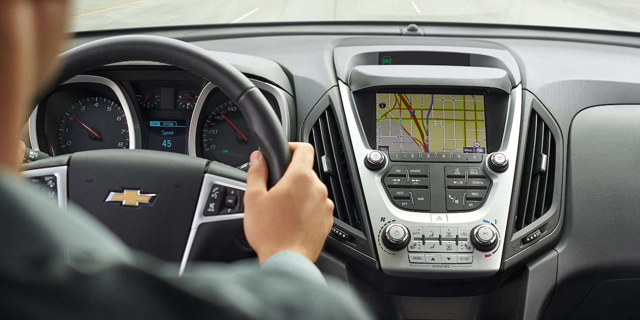 Advanced Technology Reigns in the Cabin of the Equinox