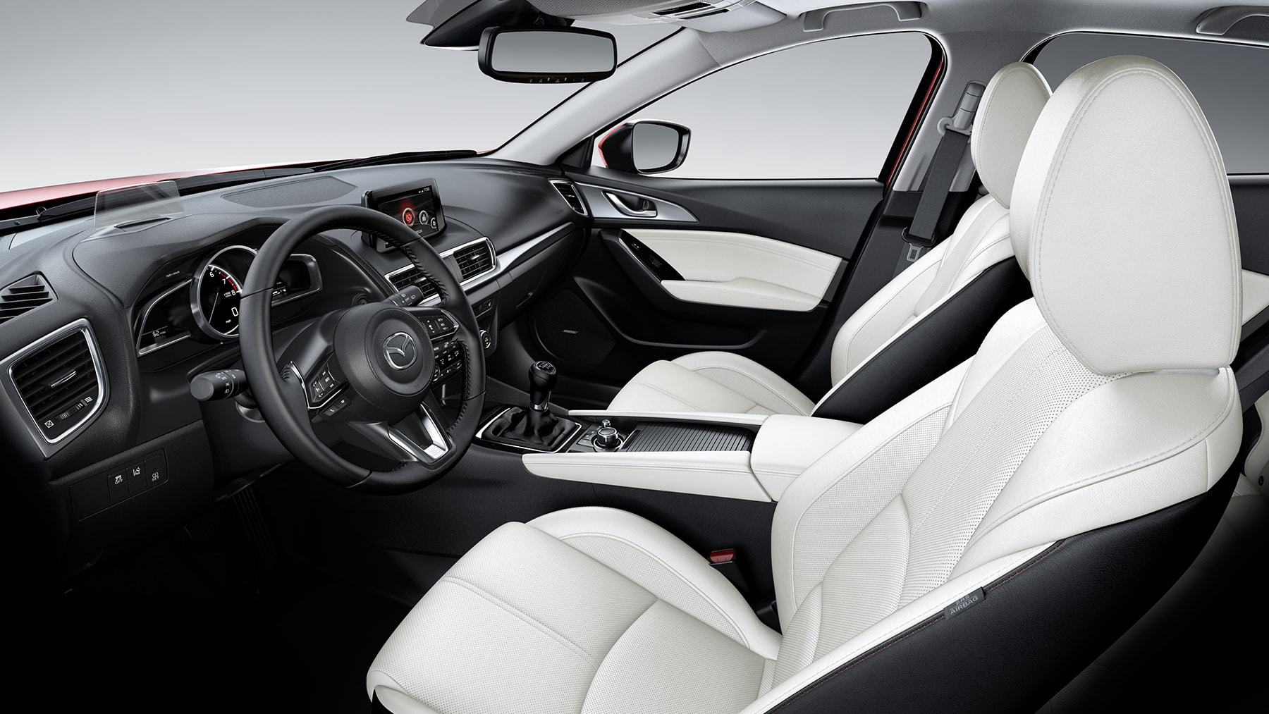 All Passengers Will Feel Pampered Aboard the Mazda3 Sedan