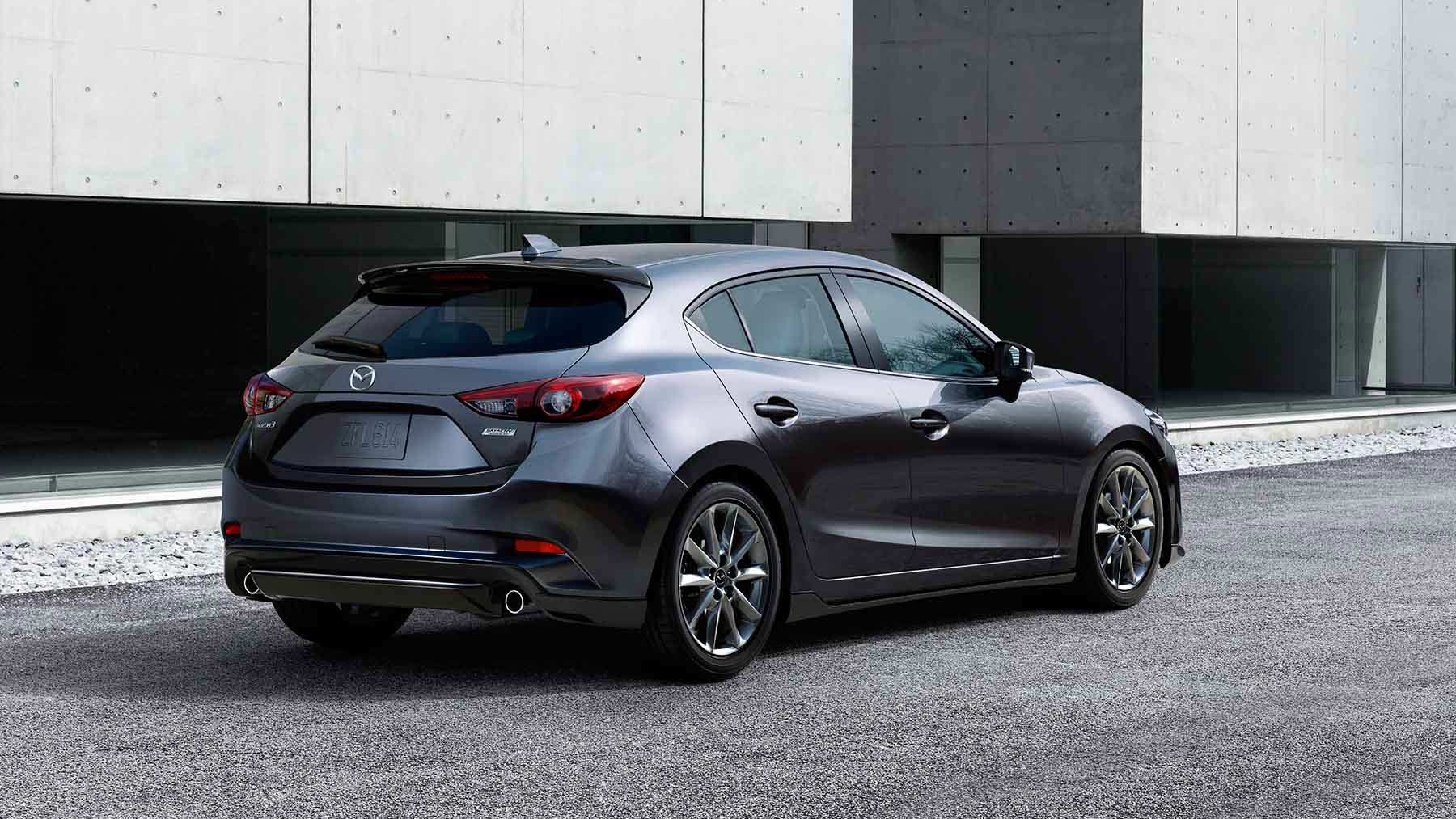 The 5-Door 2017 Mazda3 Hatchback