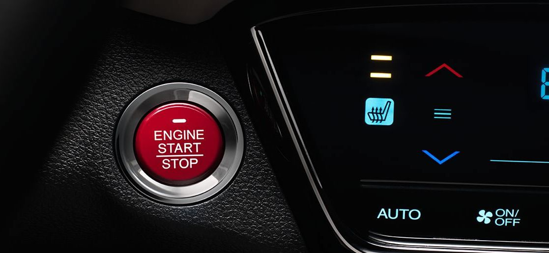 Push Button Start in the 2017 HR-V