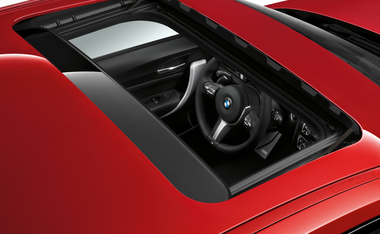 Electric Glass Sunroof on BMW M240i Coupe