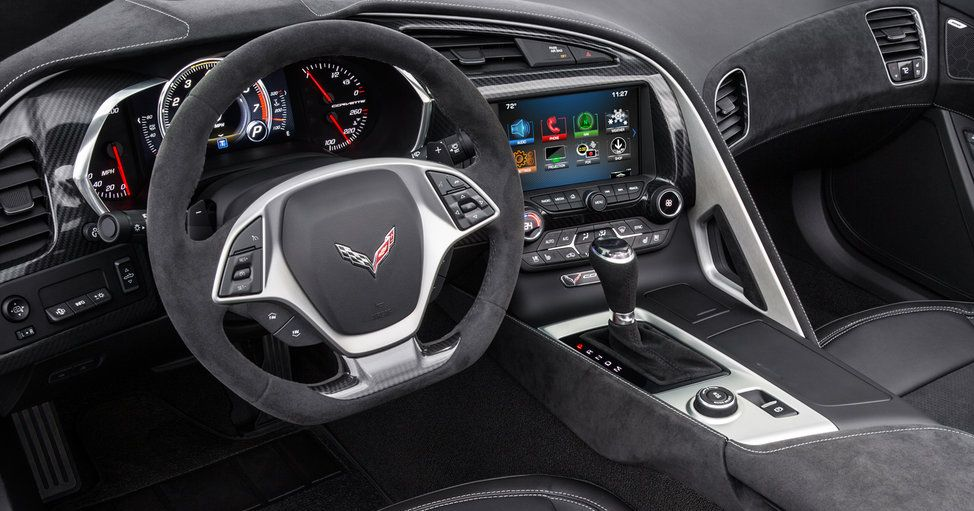 Flat-Bottom Steering Wheel in the Chevy Corvette