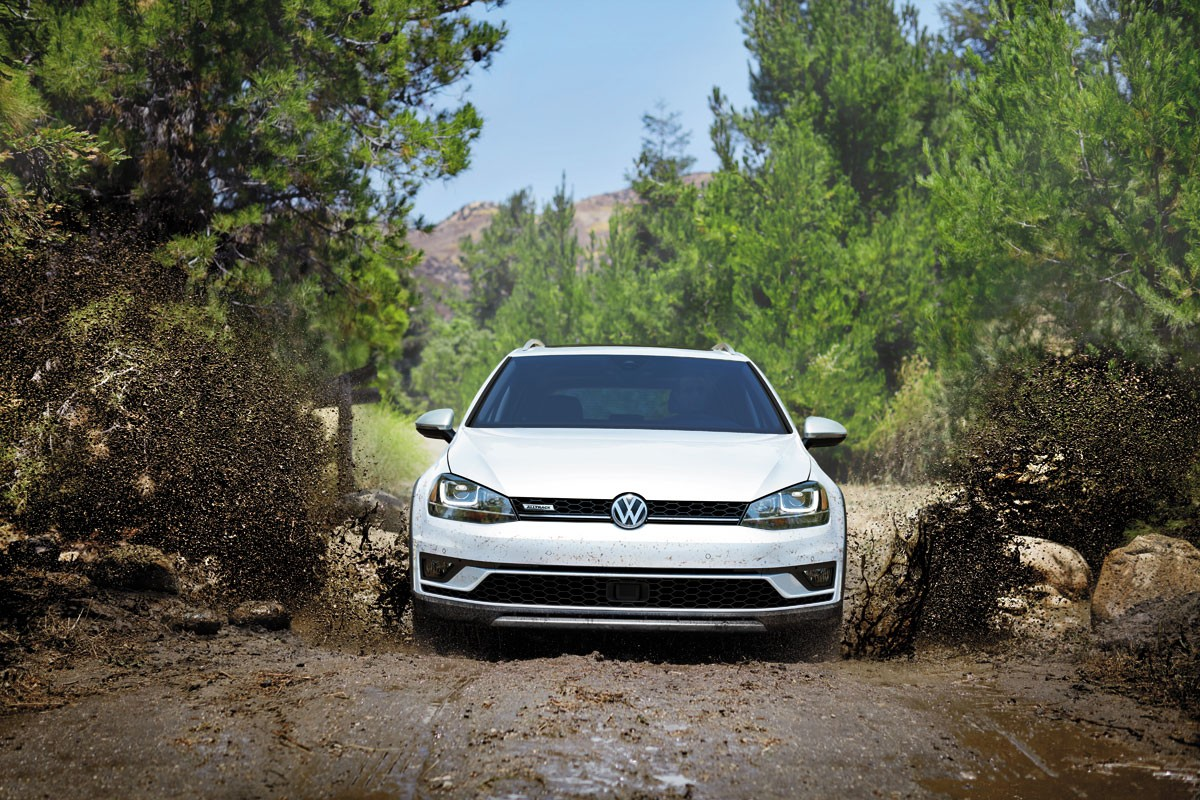 Come and Test Drive the Golf Alltrack!