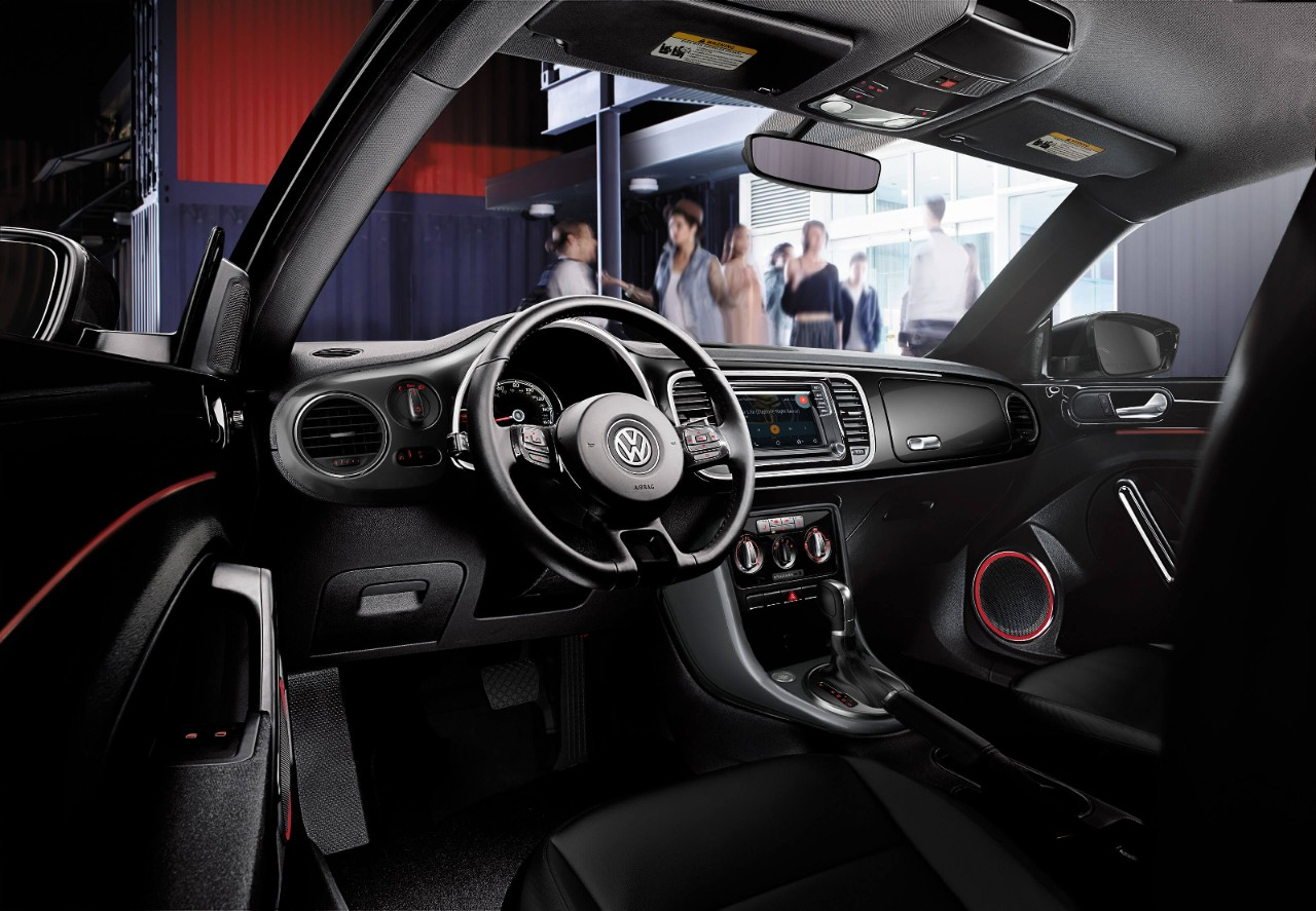2017 Beetle Interior