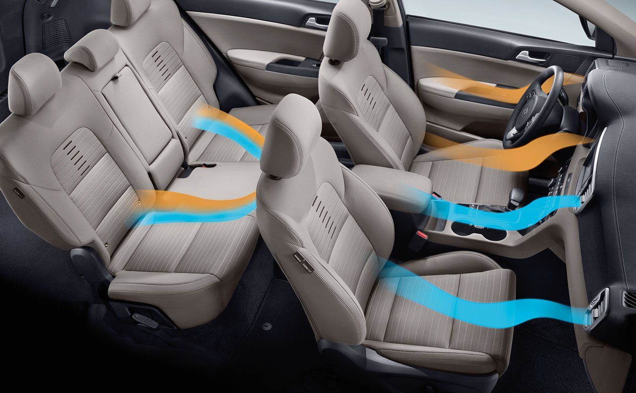 Sportage With Heated and Ventilated Seats