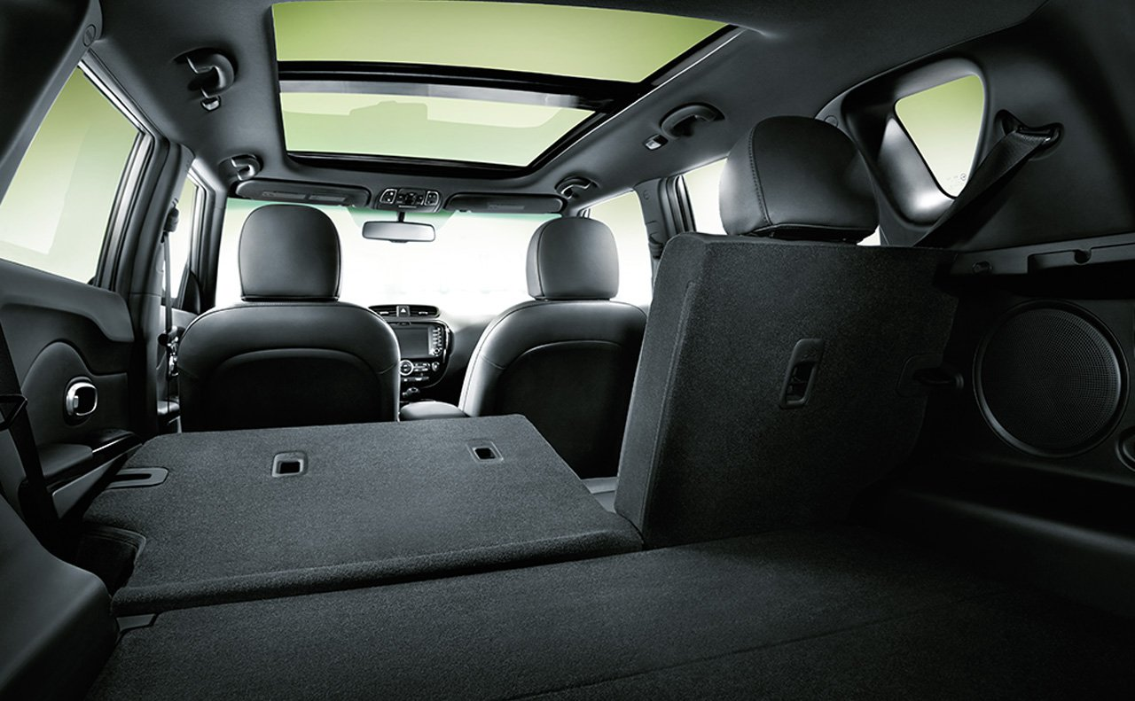60/40 Split-Folding Seat in the Kia Soul