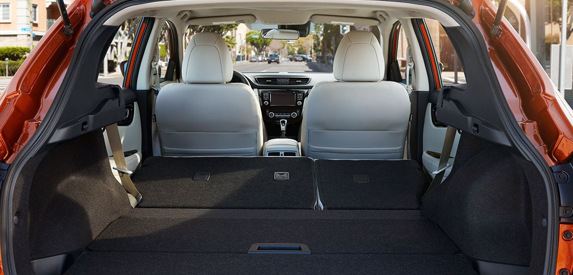 Cargo Space in the 2017 Rogue Sport