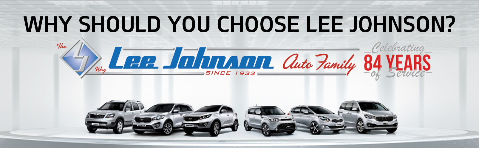Why should you choose Lee Johnson? Lee Johnson Logo