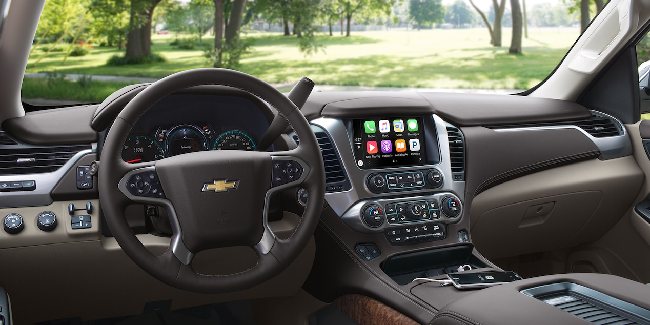 Chevrolet Tahoe with Apple CarPlay™