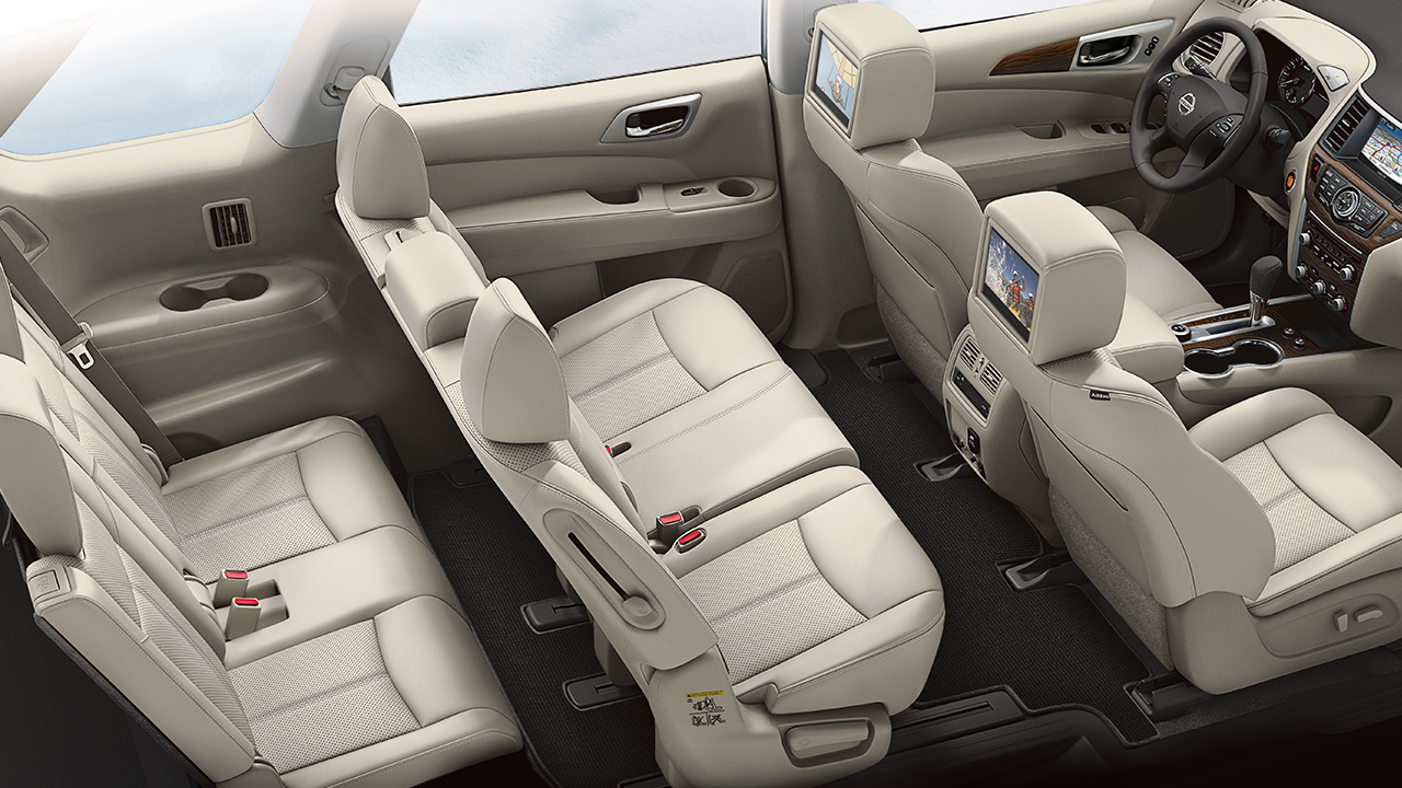 There is Plenty of Room for Passengers and Cargo Inside the Pathfinder!